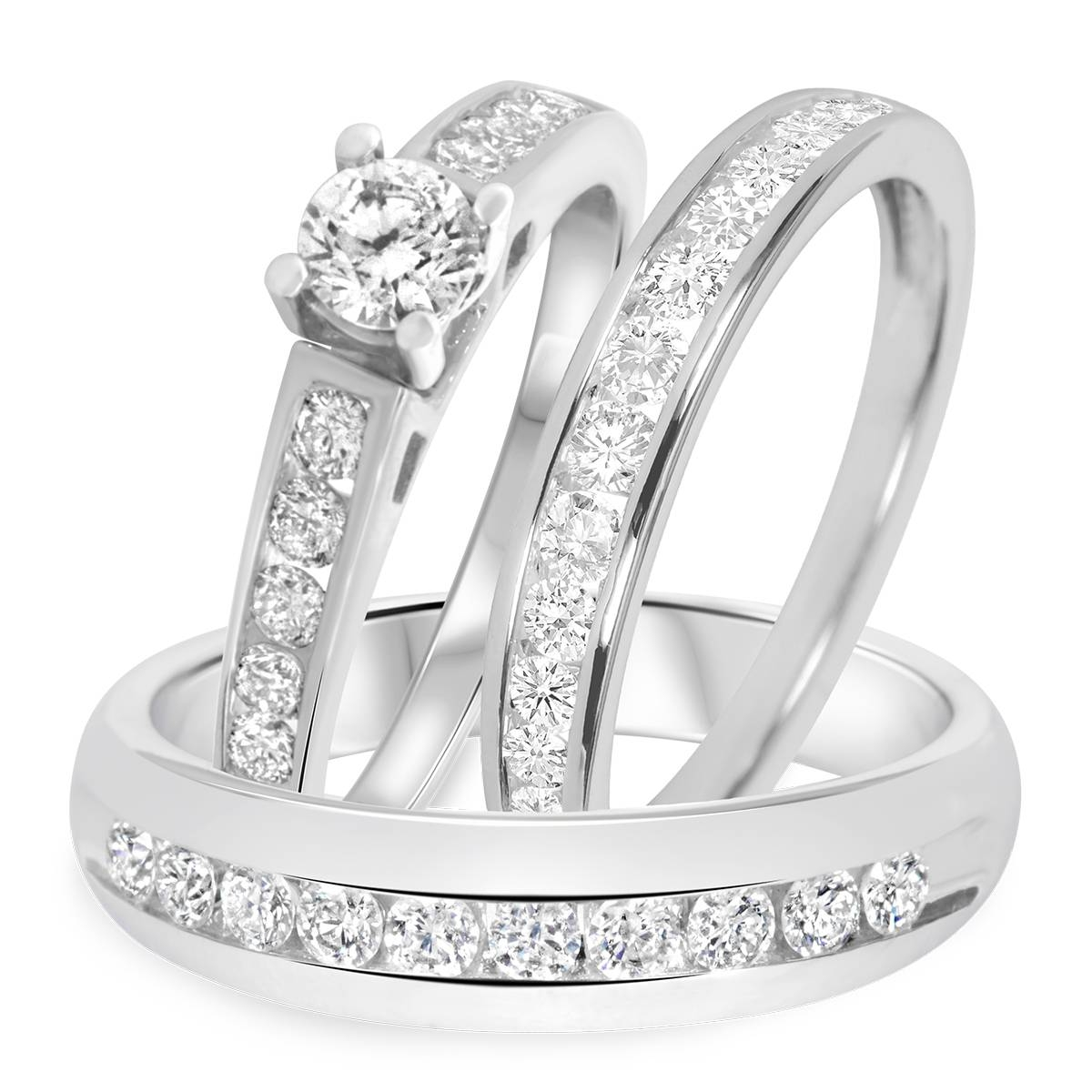 Featured Photo of Trio Engagement Ring Sets