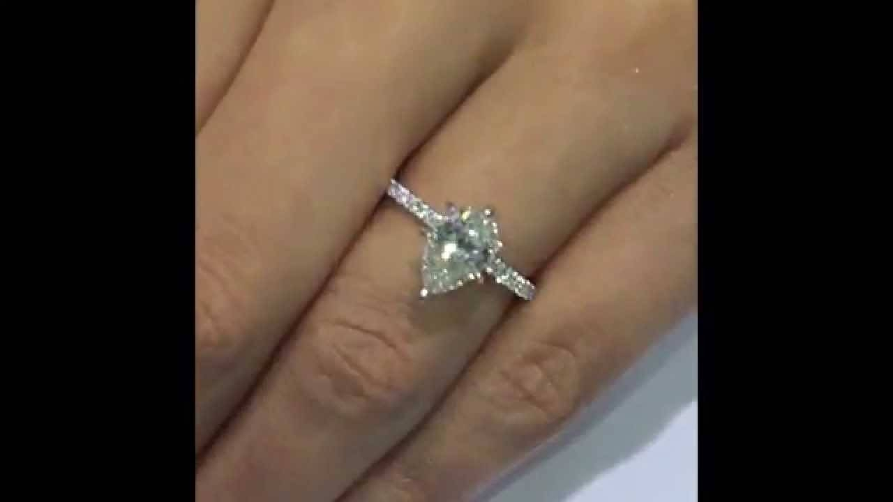 in diamond youtube setting round carat tiffany watch engagement classic prong style ct rings ring