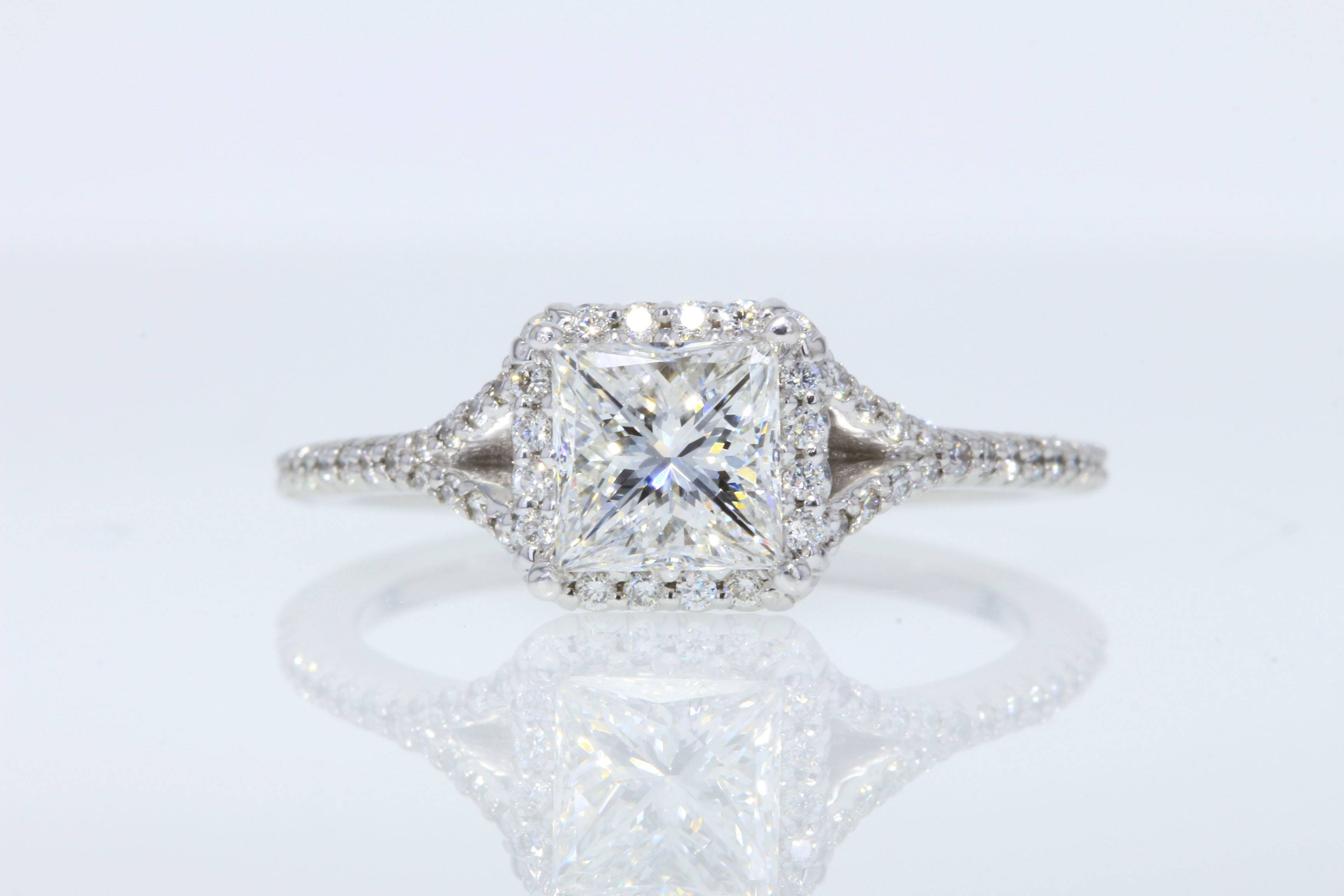 diamond engagement white from rings gold band product kay the wedding leo jewelers