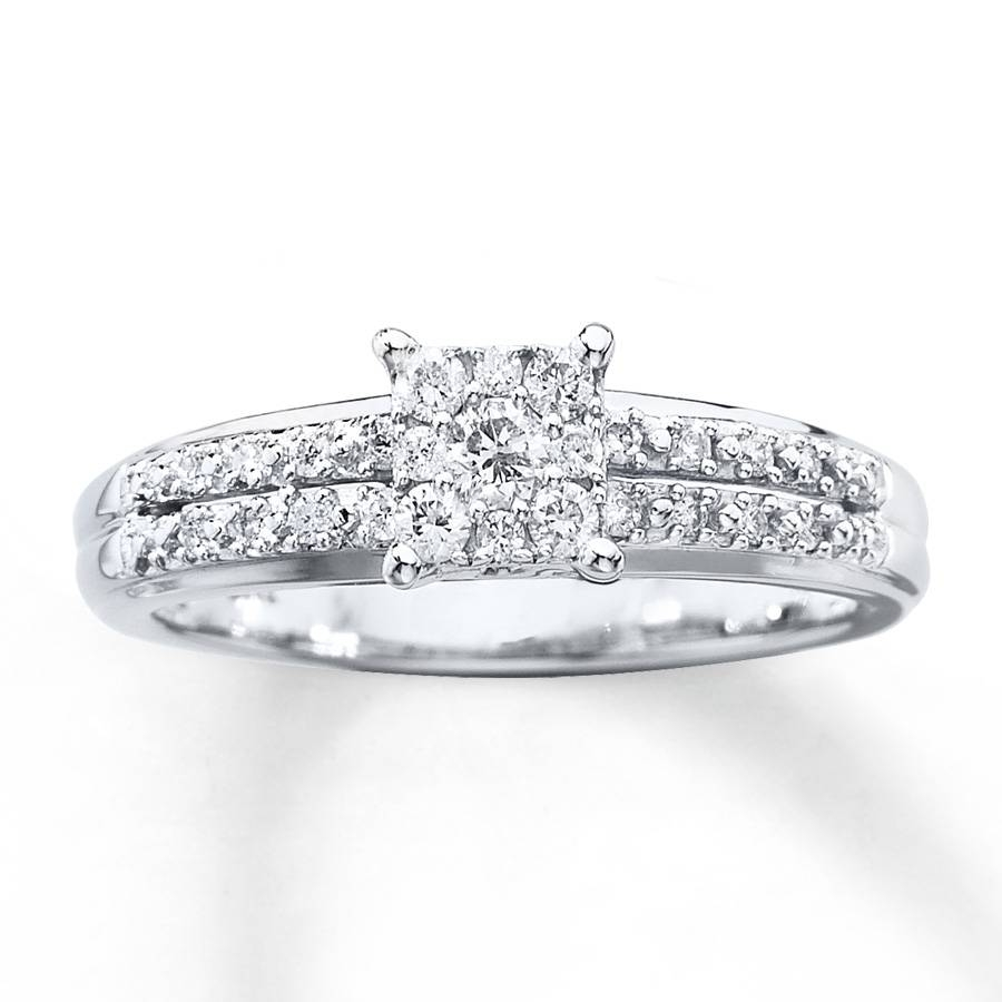 1 4 Ct Diamond Rings | Wedding, Promise, Diamond, Engagement Rings With Engagement Mounts (View 1 of 15)