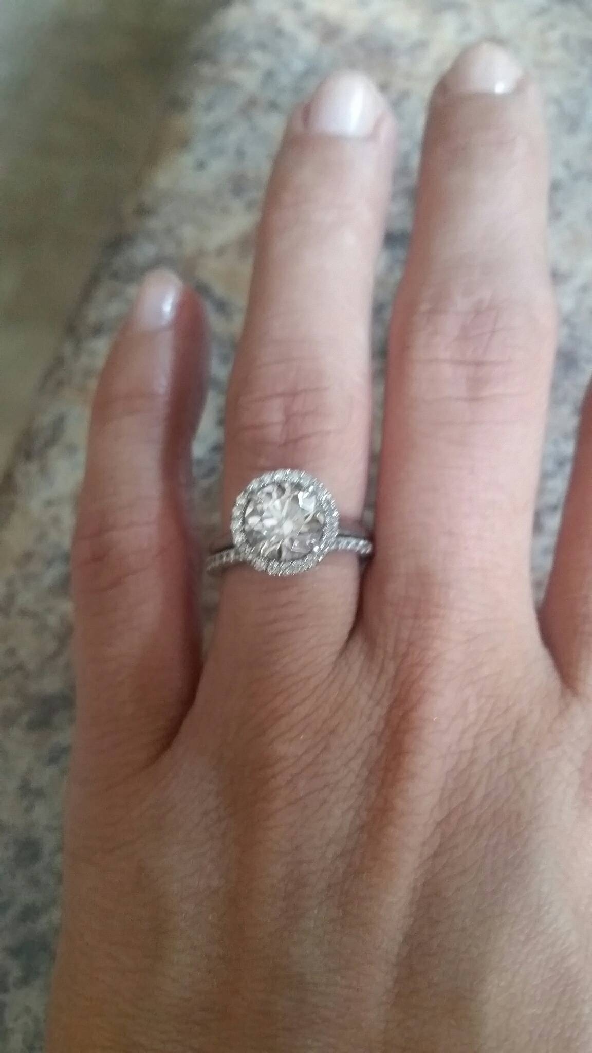 1.5 Mm Bands.. Too Little? – Weddingbee Throughout  (View 1 of 15)