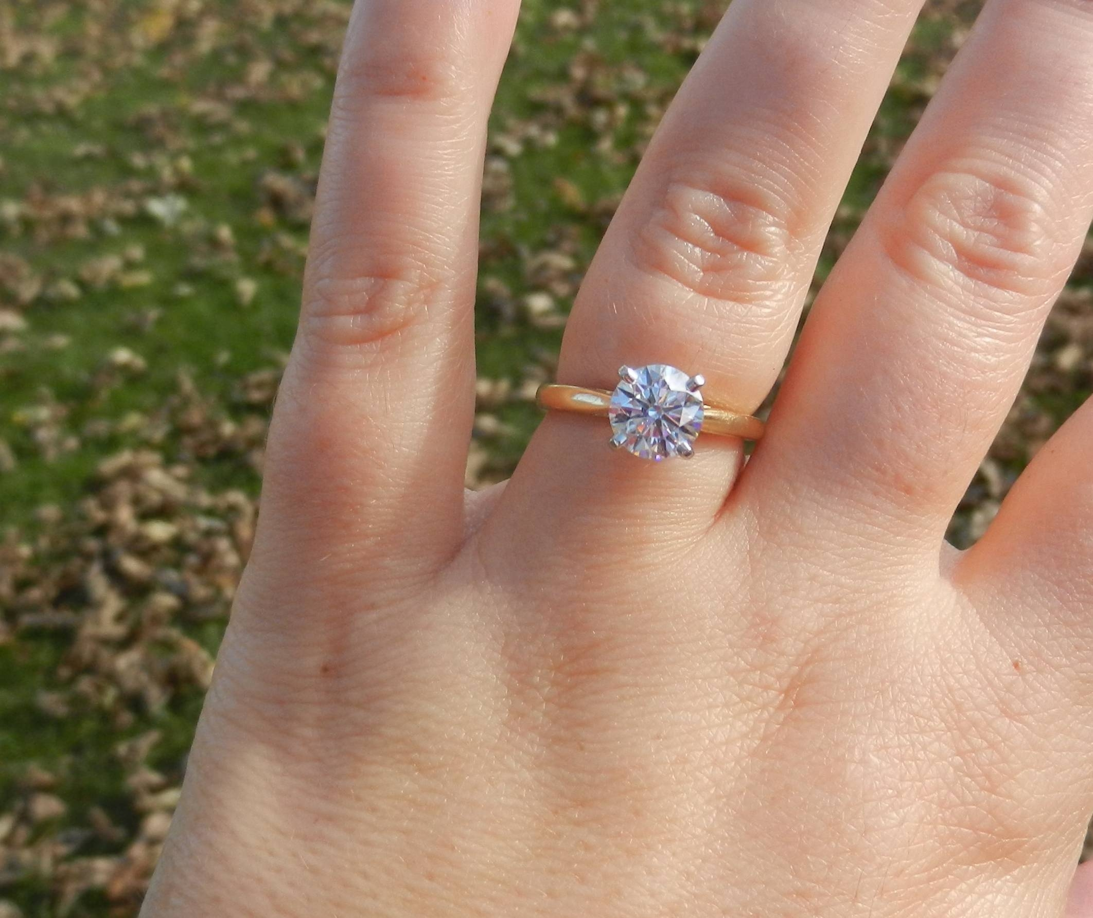 1.5Mm Band Too Thin? – Weddingbee Pertaining To  (View 2 of 15)