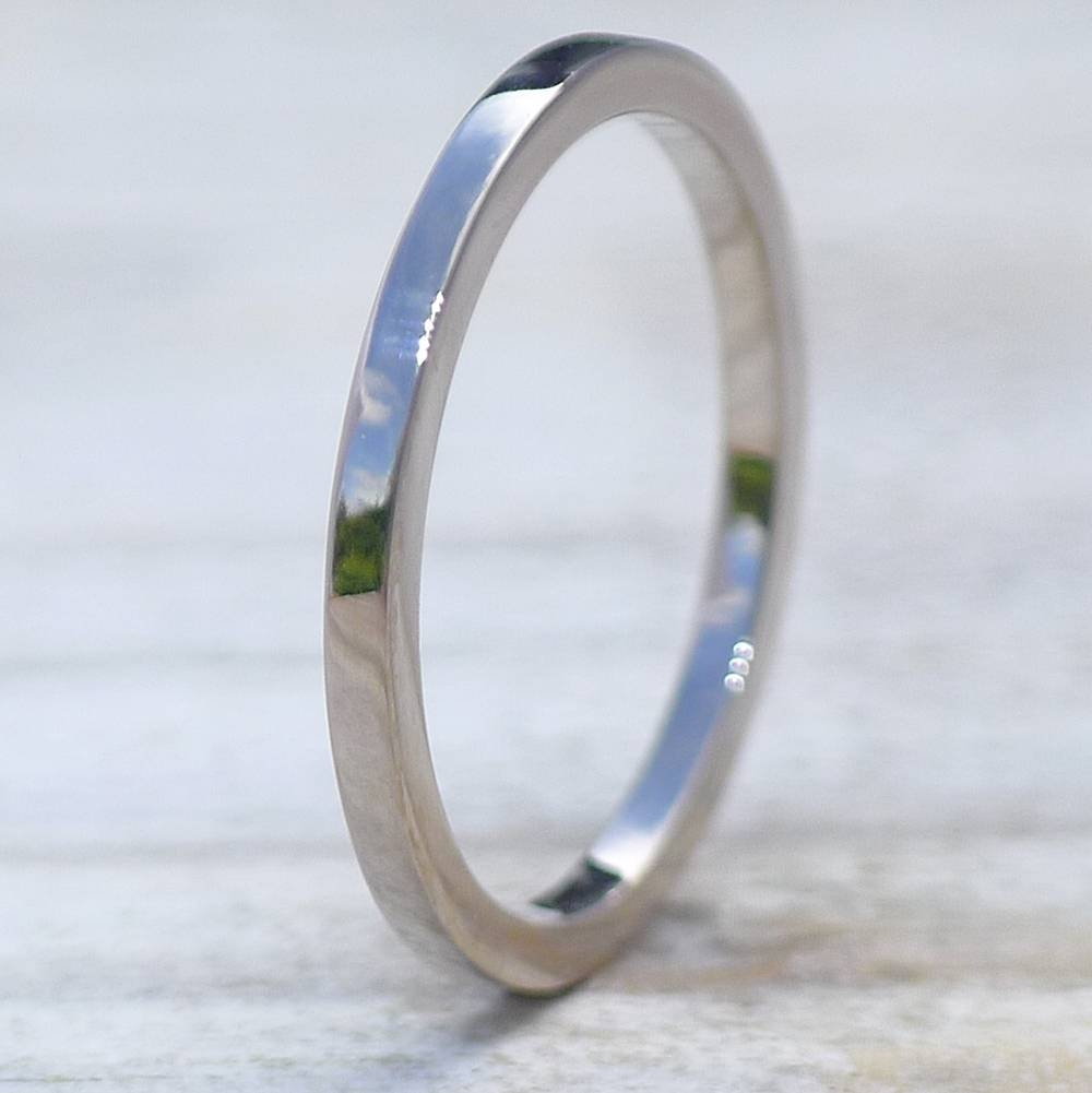 1.5Mm Flat Wedding Ring | Wedding Bands | Lilia Nash Jewellery With Regard To  (View 3 of 15)