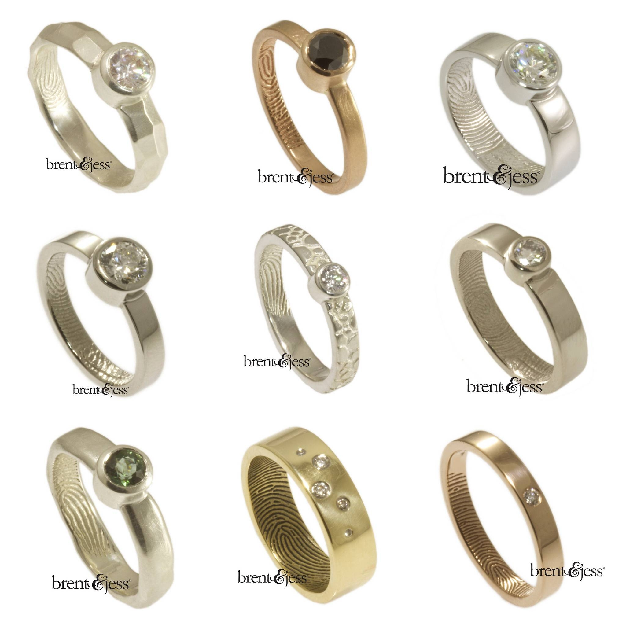 10 Non Traditional Engagement Rings For Under $1k | A Practical In Untraditional Wedding Bands (View 6 of 15)