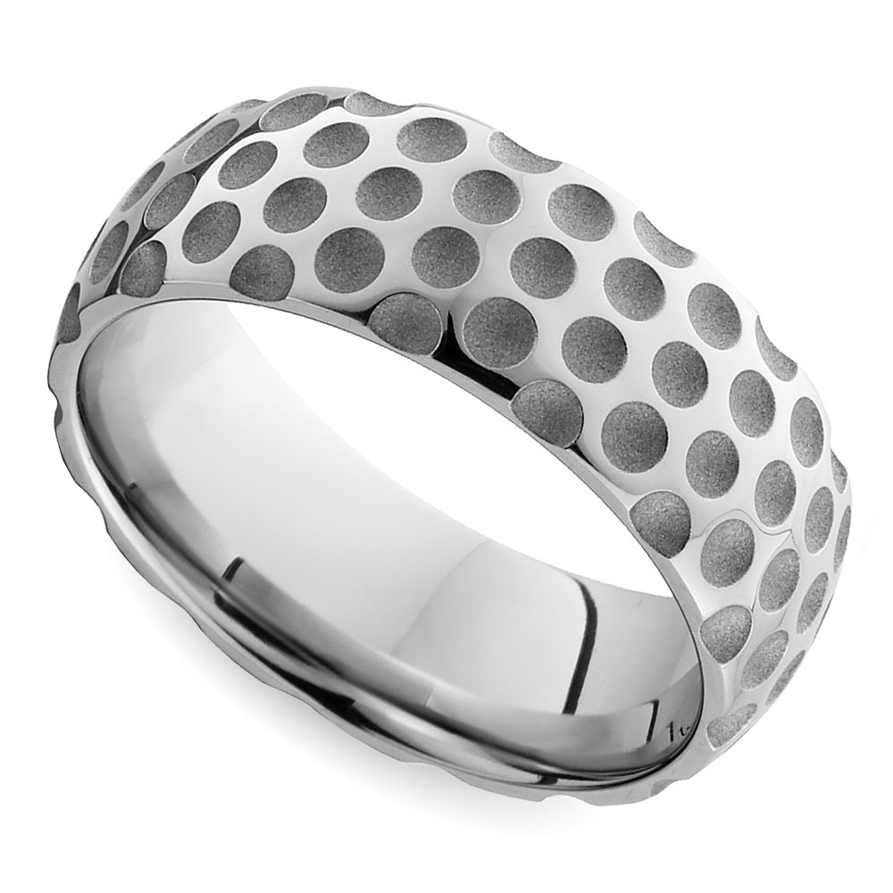 12 Nerdy Wedding Rings For Men In Black And Silver Men's Wedding Bands (View 12 of 15)