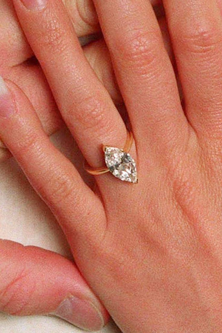 141 Best Celebrity Engagement Rings Images On Pinterest With Victoria Beckham Wedding Rings (View 1 of 14)