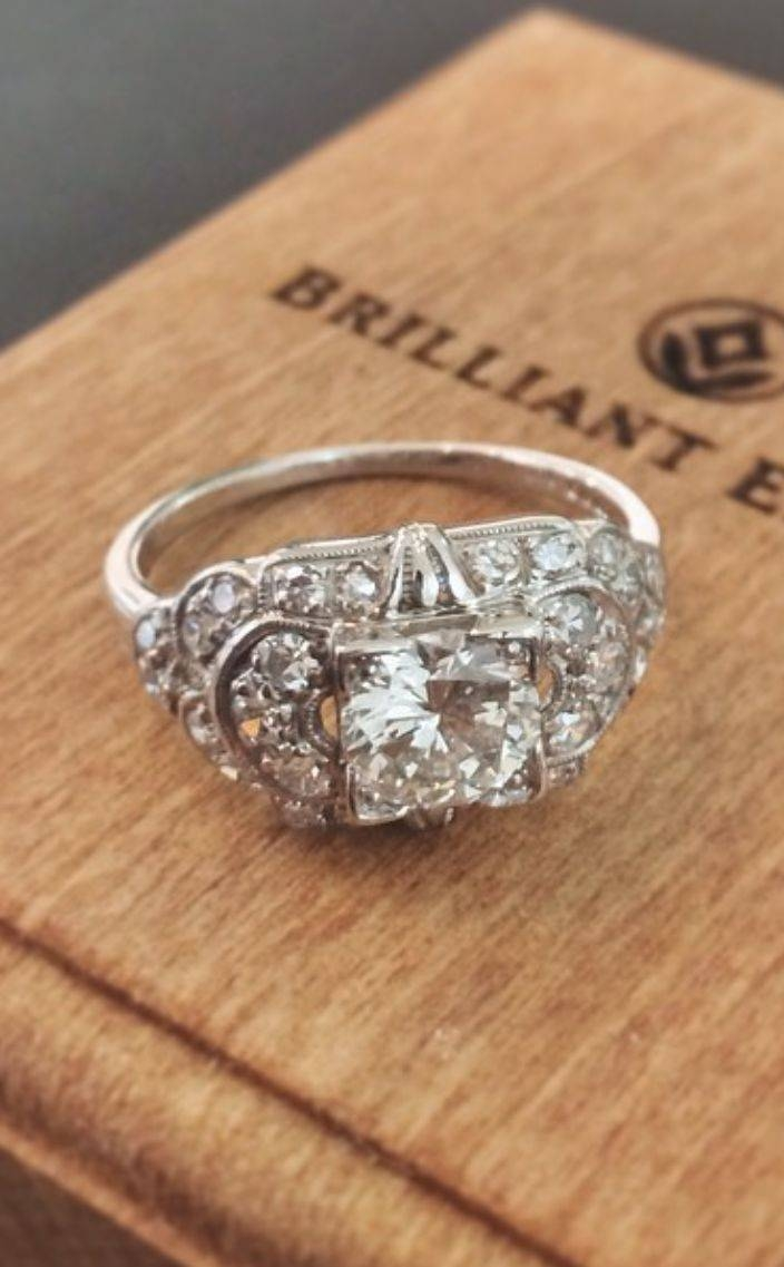 1493 Best Rings Images On Pinterest | Jewelry, Rings And Vintage Rings For Vintage Engagement Rings Northern Ireland (View 1 of 15)