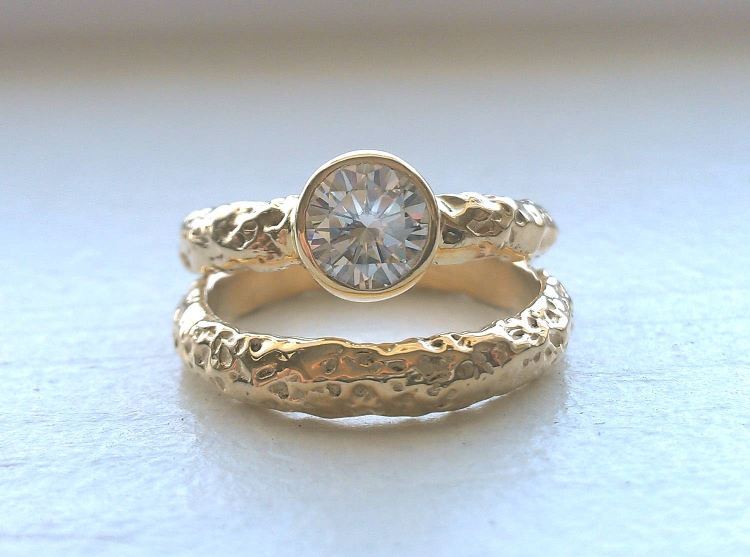 15 Alternative Engagement Rings For A Bad Ass Bride | Southern New Within Diamond Alternative Wedding Rings (View 10 of 15)