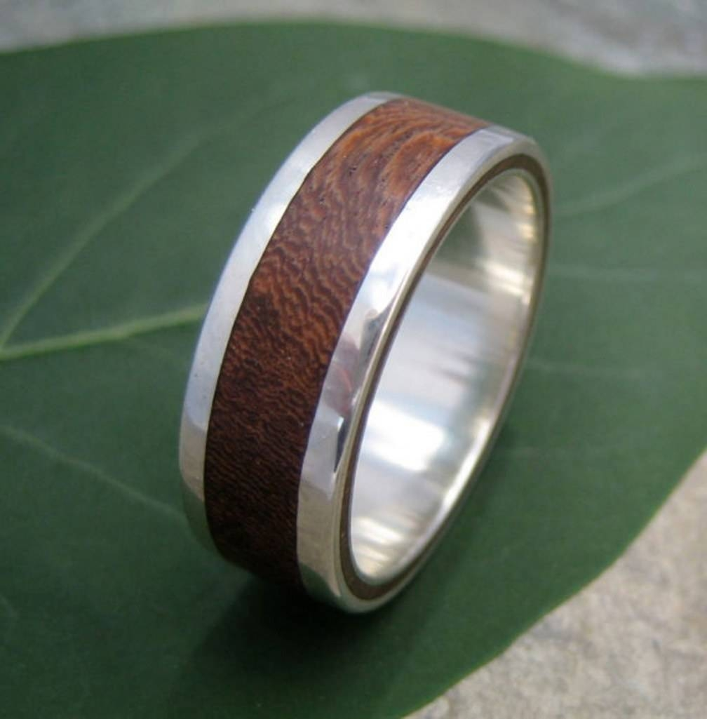 15 Men's Wedding Bands Your Groom Won't Want To Take Off | Glamour In Manly Wedding Bands (View 1 of 15)