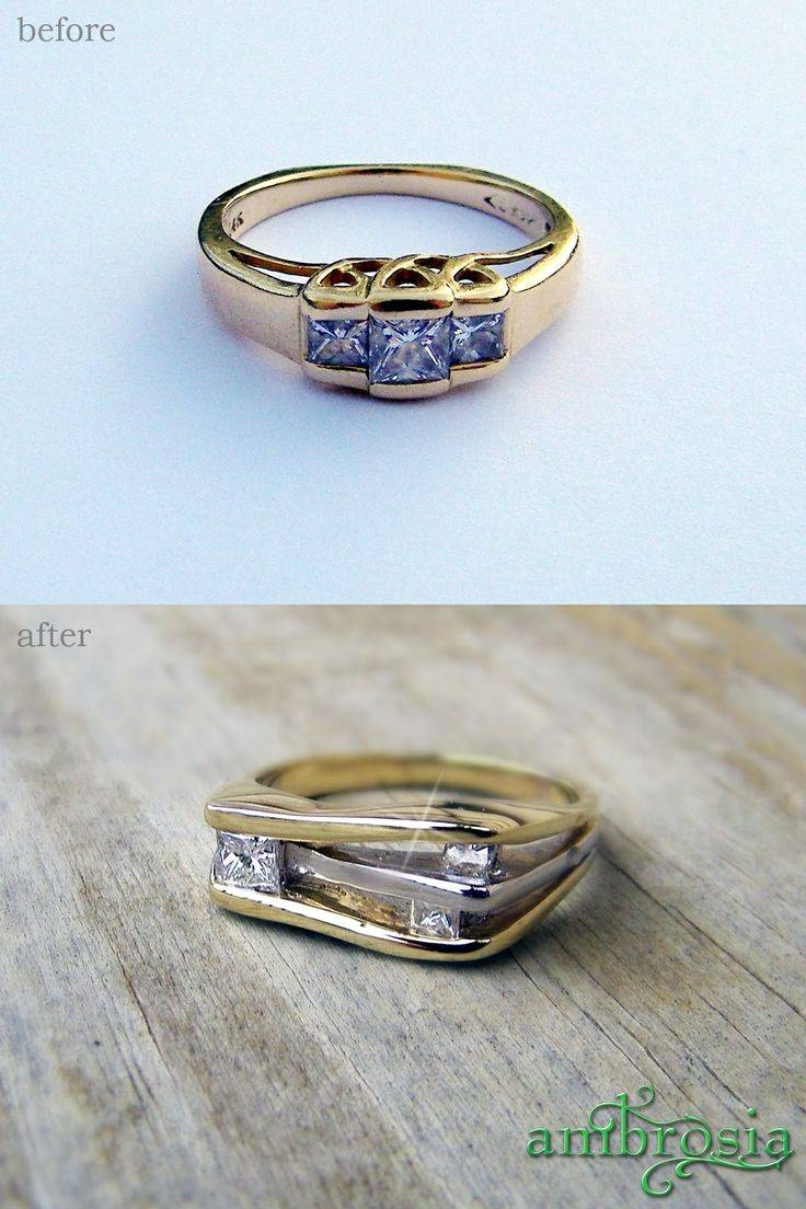 18 Best Redesigned Jewelry And Restoration Of Inherited Jewelry In Artistic Wedding Rings (View 1 of 15)