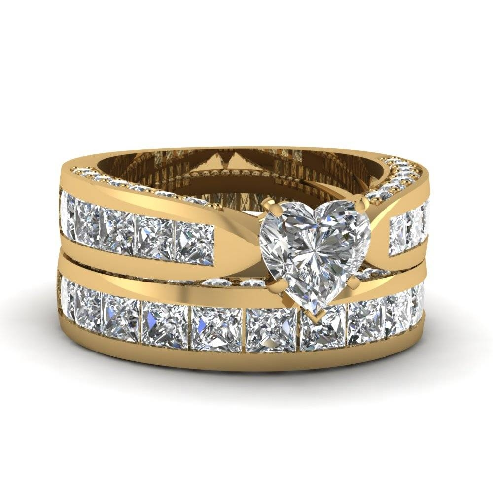 18 Big Engagement Rings Styles That Every Woman Dreams To Be Regarding 18 Karat Gold Wedding Rings (View 8 of 15)