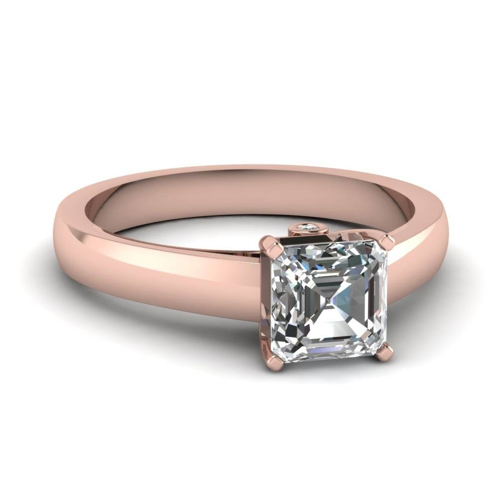 20 Styles Of Square Engagement Rings That One Can Never Resist Pertaining To Engagement And Wedding Rings In One (View 1 of 15)
