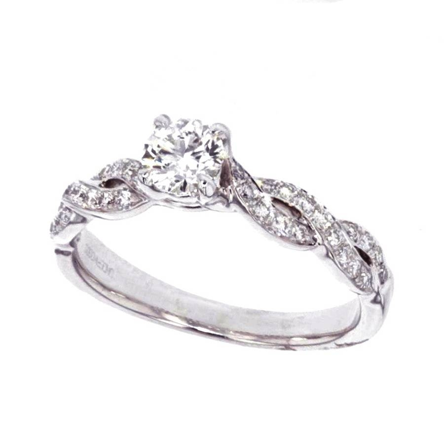 2015 Engagement Ring Trends | Underwoods Fine Jewelers In Infinity Symbol Engagement Rings (Gallery 11 of 15)