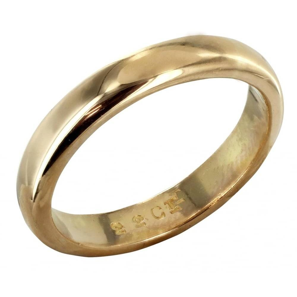 22 Carat Gold Wedding Ring From Browns Family Jewellers Pertaining To 22 Carat Gold Wedding Rings (View 4 of 15)
