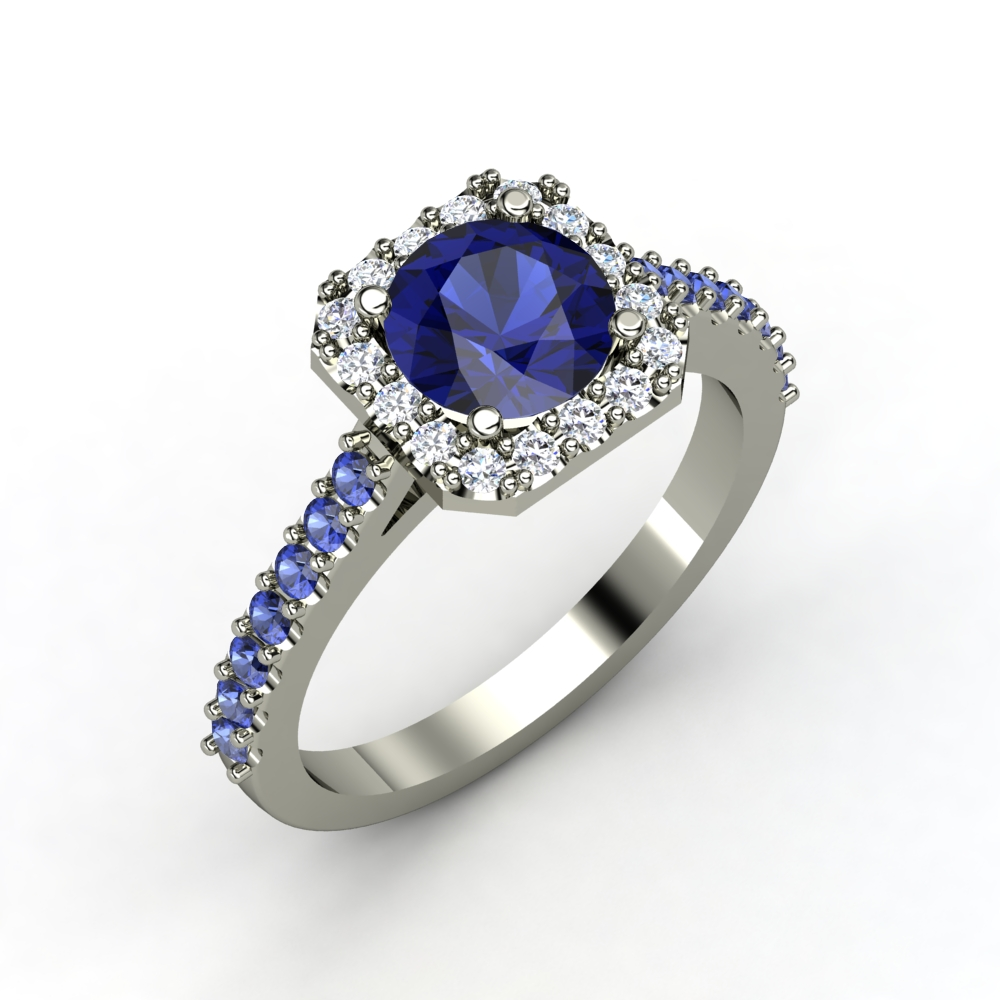 22 Incredible Sapphire Wedding Rings For Women – Navokal For Sapphire Wedding Rings For Women (View 7 of 15)