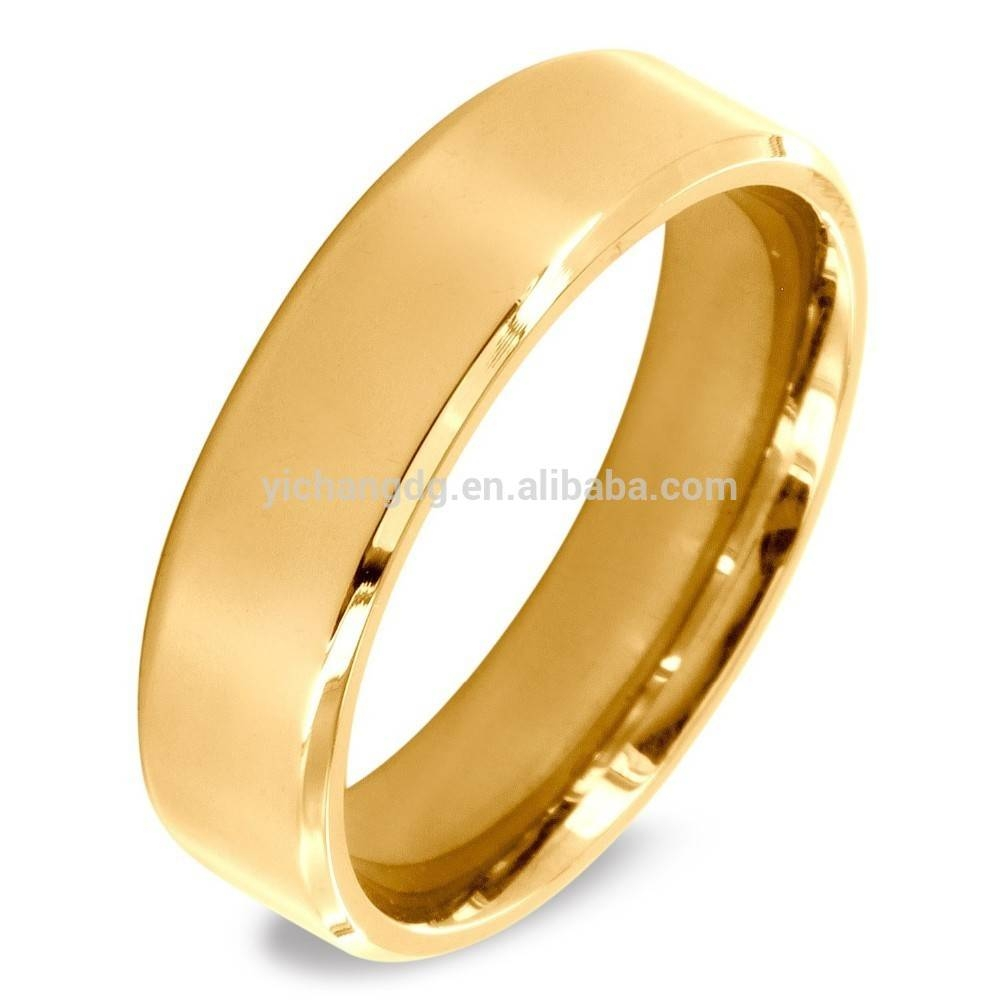 24K Gold Dubai Wedding Rings Jewelry, 24K Gold Dubai Wedding Rings Regarding 24K Gold Wedding Bands (View 5 of 15)