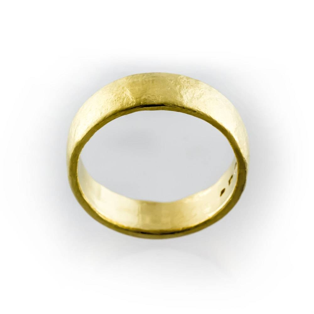 24K Gold Ring 24K Pure Gold Ring 24K Gold Wedding Ring Inside 24K Gold Wedding Bands (View 6 of 15)