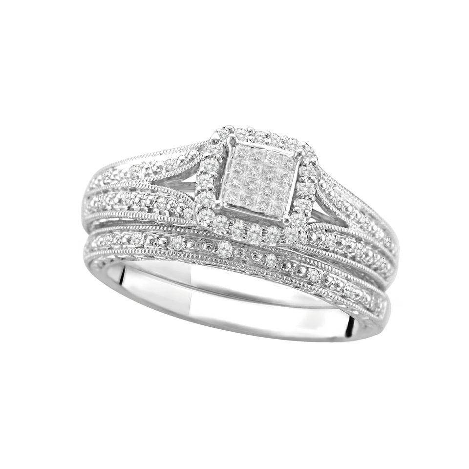 25 Cheap Wedding Rings Sets Walmart, And Diamond Accent Wedding Inside Walmart Wedding Rings For Women (View 2 of 15)