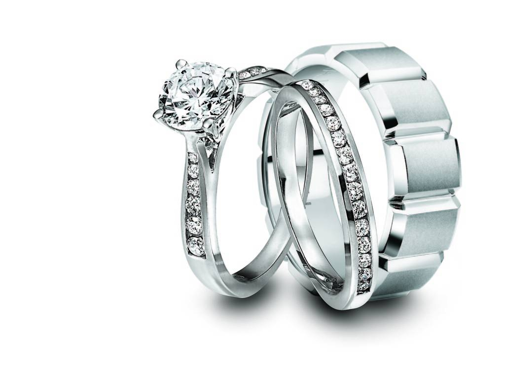 26 Wedding Rings For Him And Her Sets, Wedding Rings Sets For Him Within Wedding Bands Sets For Him And Her (View 1 of 15)