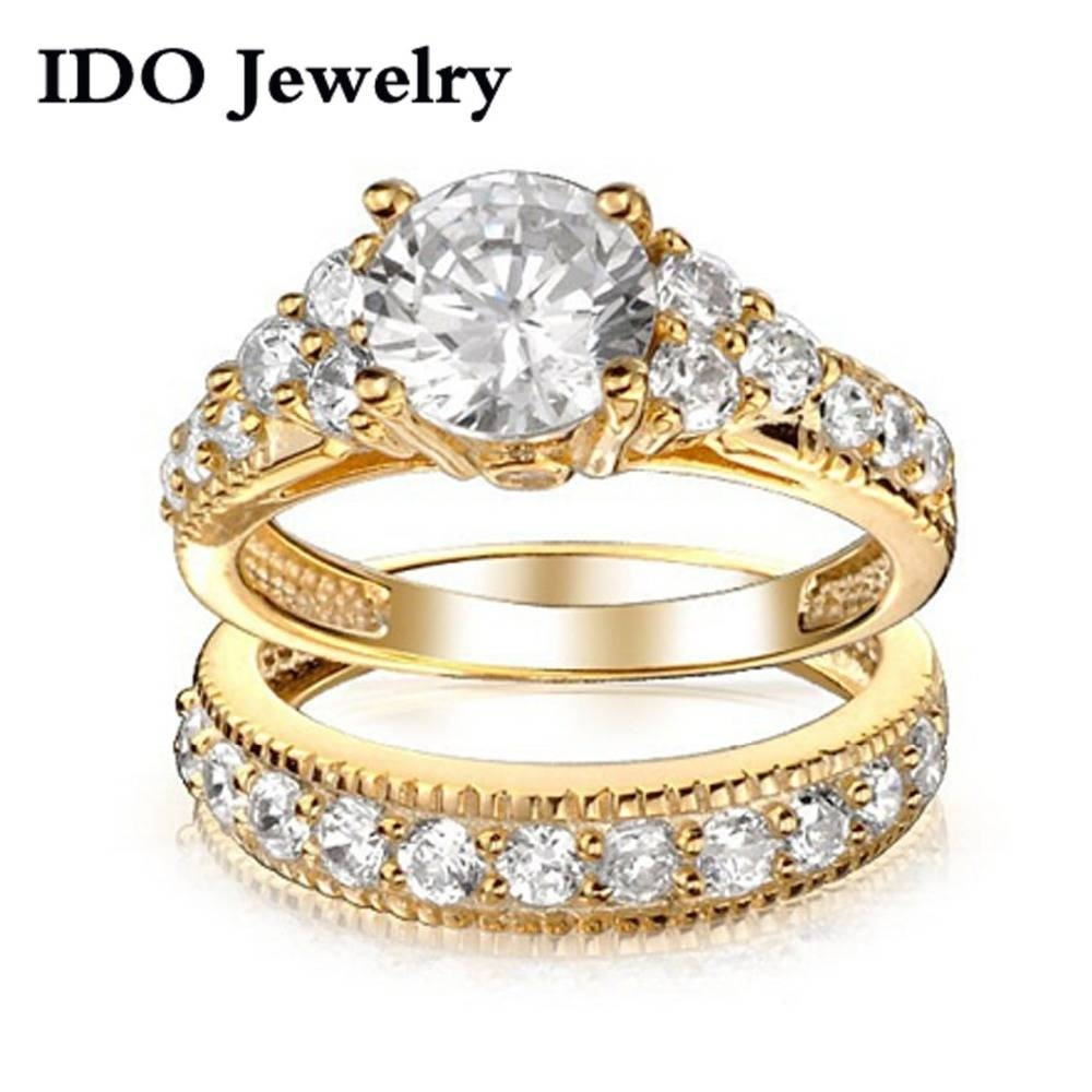 27 Cheap Gold Wedding Sets, Engagement Rings Diamond Rings Cheap Intended For Cheap Yellow Gold Wedding Rings (View 2 of 15)