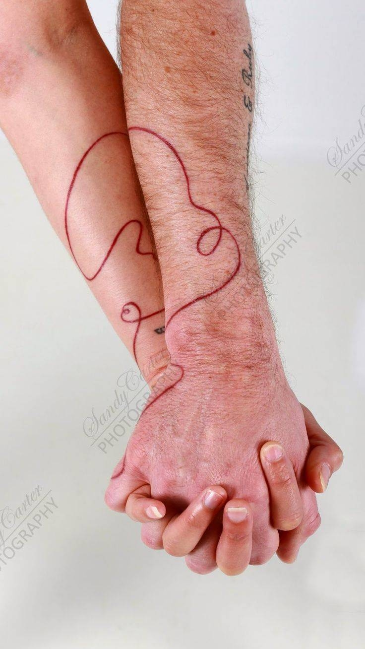 295 Best Red String Of Fate Images On Pinterest | Red String Regarding Red String Of Fate Wedding Rings (View 1 of 15)