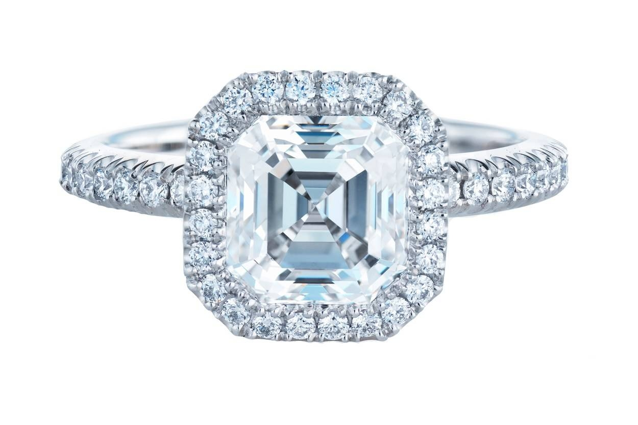 30 Diamond Engagement Rings So Sparkly You'll Need Sunglasses In Bling Wedding Rings (View 4 of 15)