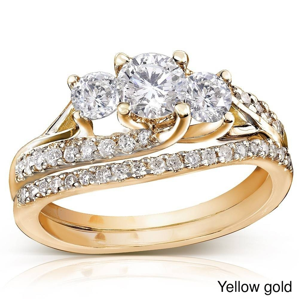 35 Cheap Gold Wedding Ring Sets, Nice Cheap Gold Wedding Ring Sets For Cheap Yellow Gold Wedding Rings (View 3 of 15)