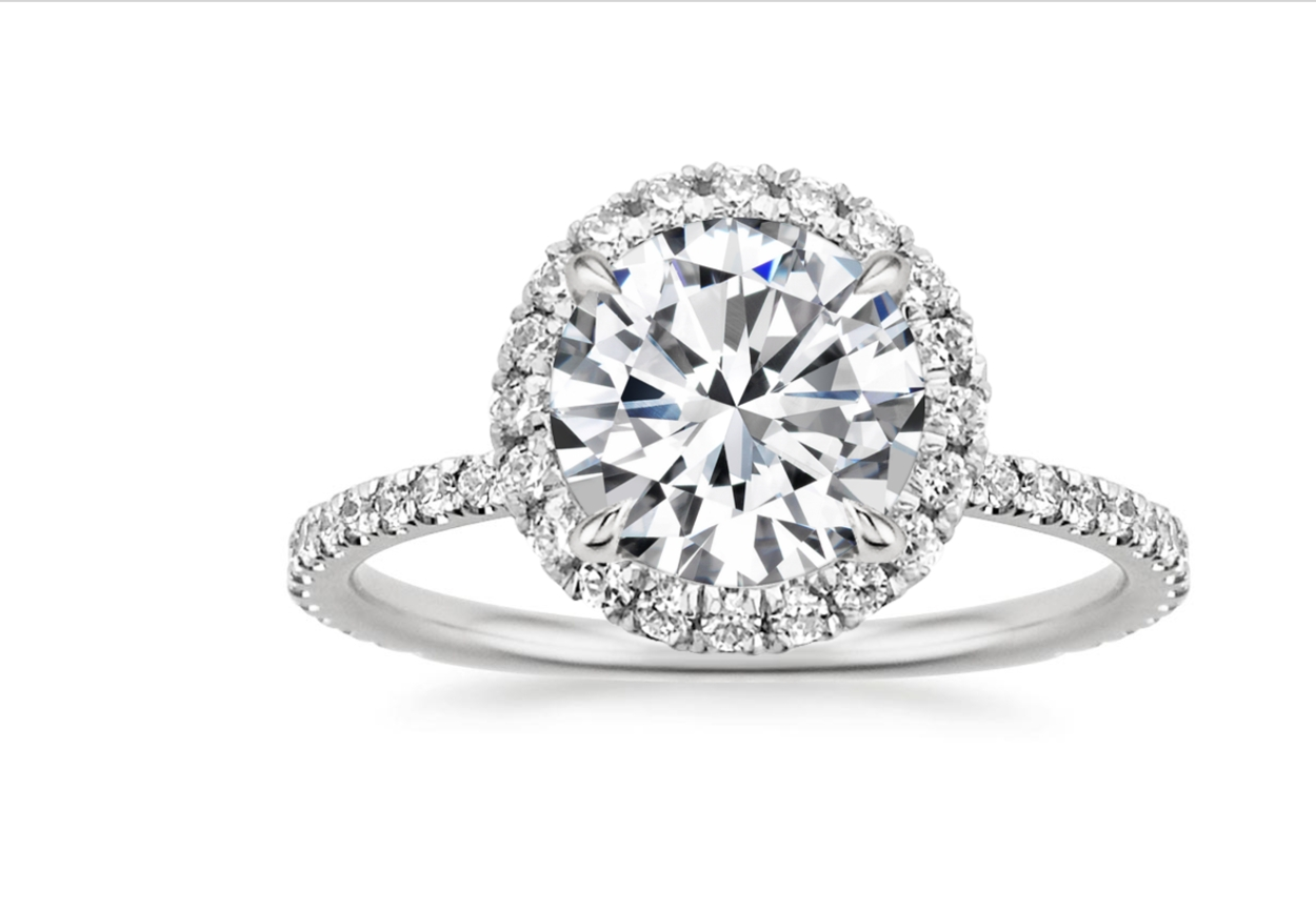 37 Best Engagement Rings For Every Bride | Glamour Within Diamond Wedding Rings (View 8 of 15)