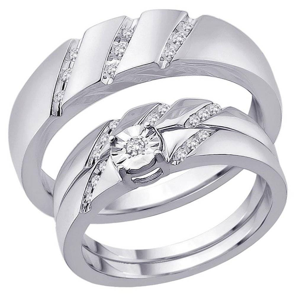 37 cheap wedding ring sets for bride and groom bride and groom intended for wedding - Wedding Ring Sets For Bride And Groom