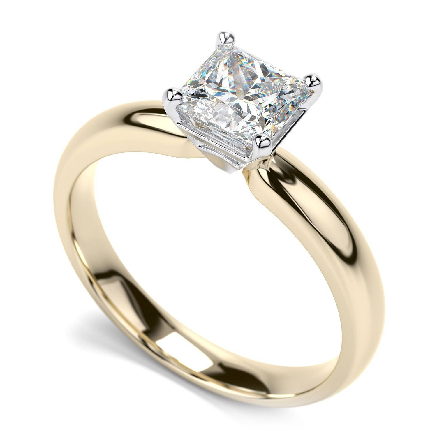 43 Fascinating Traditional Gold Engagement Rings | In Italy Wedding Within Traditional Gold Engagement Rings (View 4 of 15)