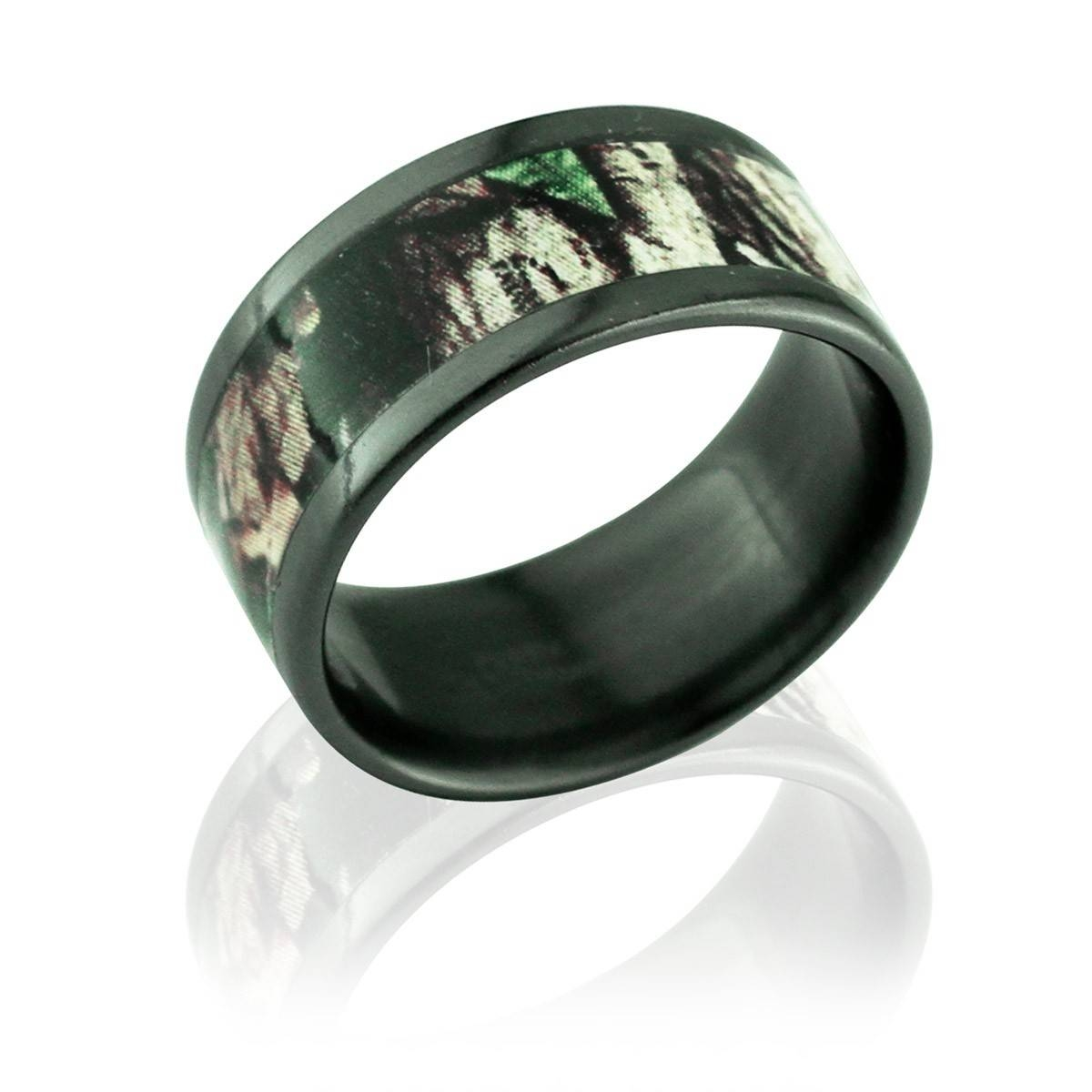 91 Camo Wedding Band For Him