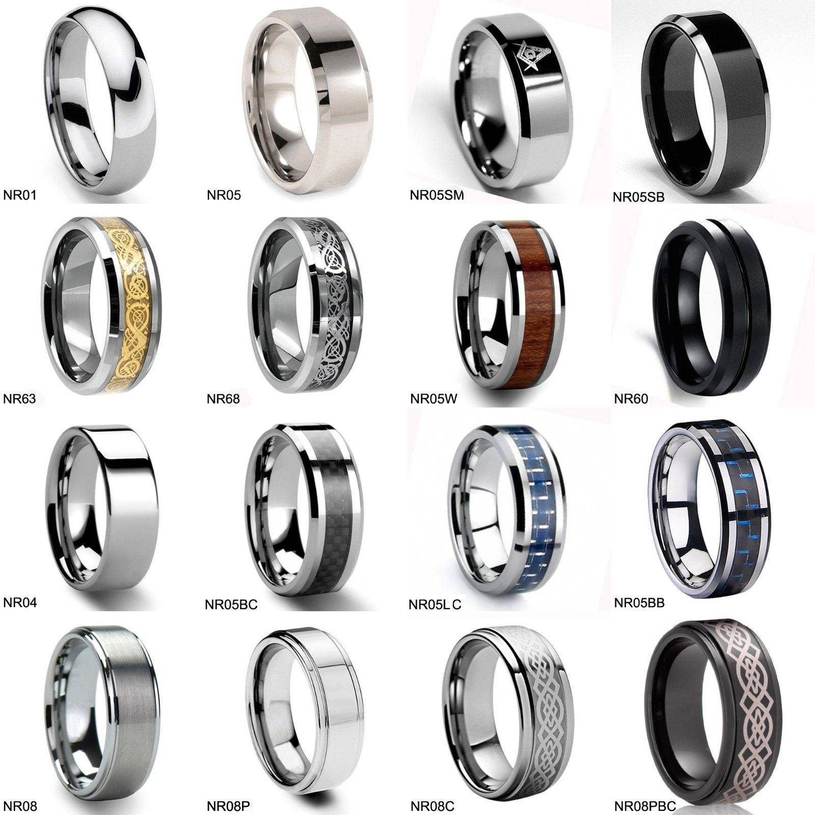 46 Tungsten Wedding Sets, Amazing Black Tungsten Wedding Couple Regarding Mens 10Mm Tungsten Wedding Bands (View 3 of 15)