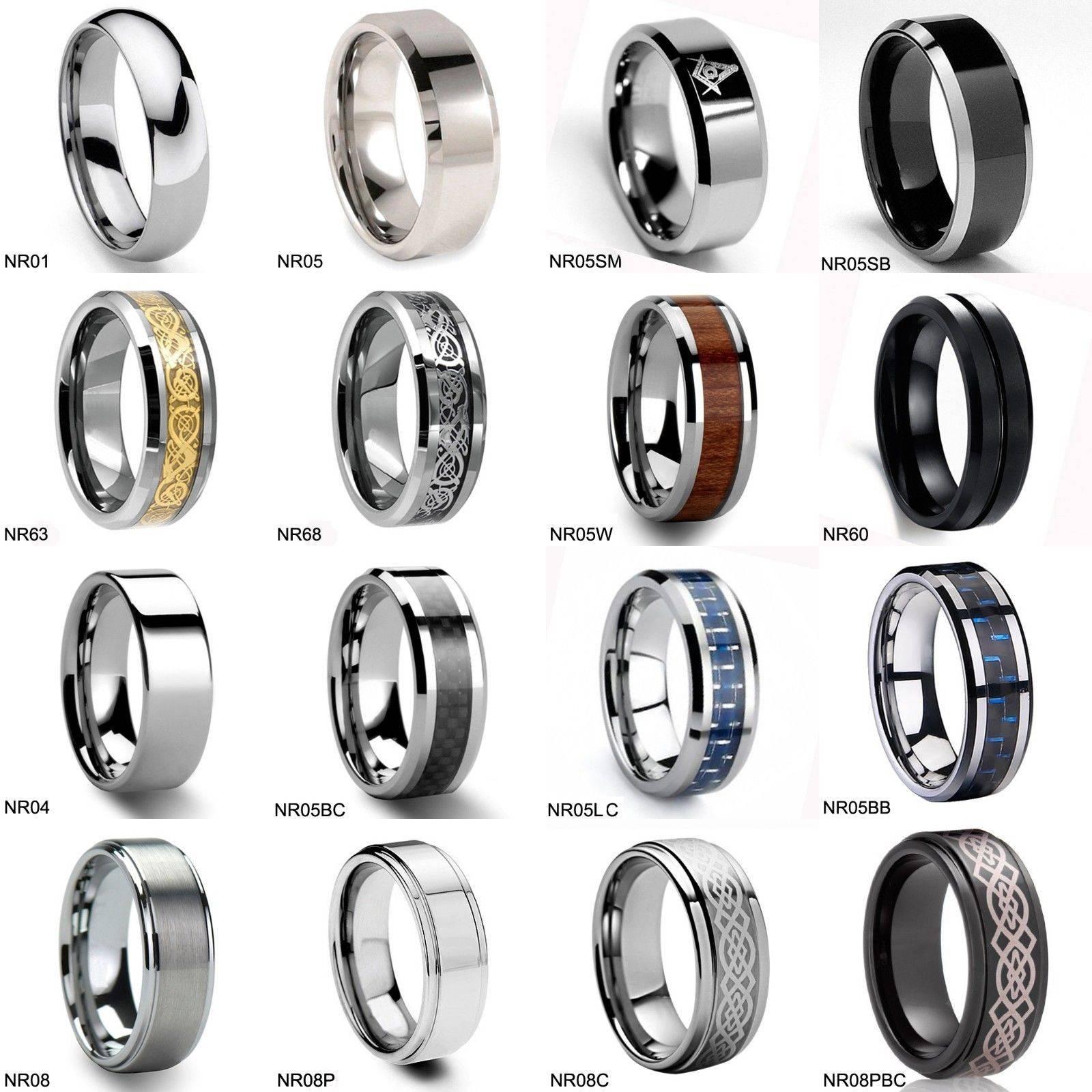 46 Tungsten Wedding Sets, Amazing Black Tungsten Wedding Couple Regarding Mens 10mm Tungsten Wedding Bands (View 12 of 15)