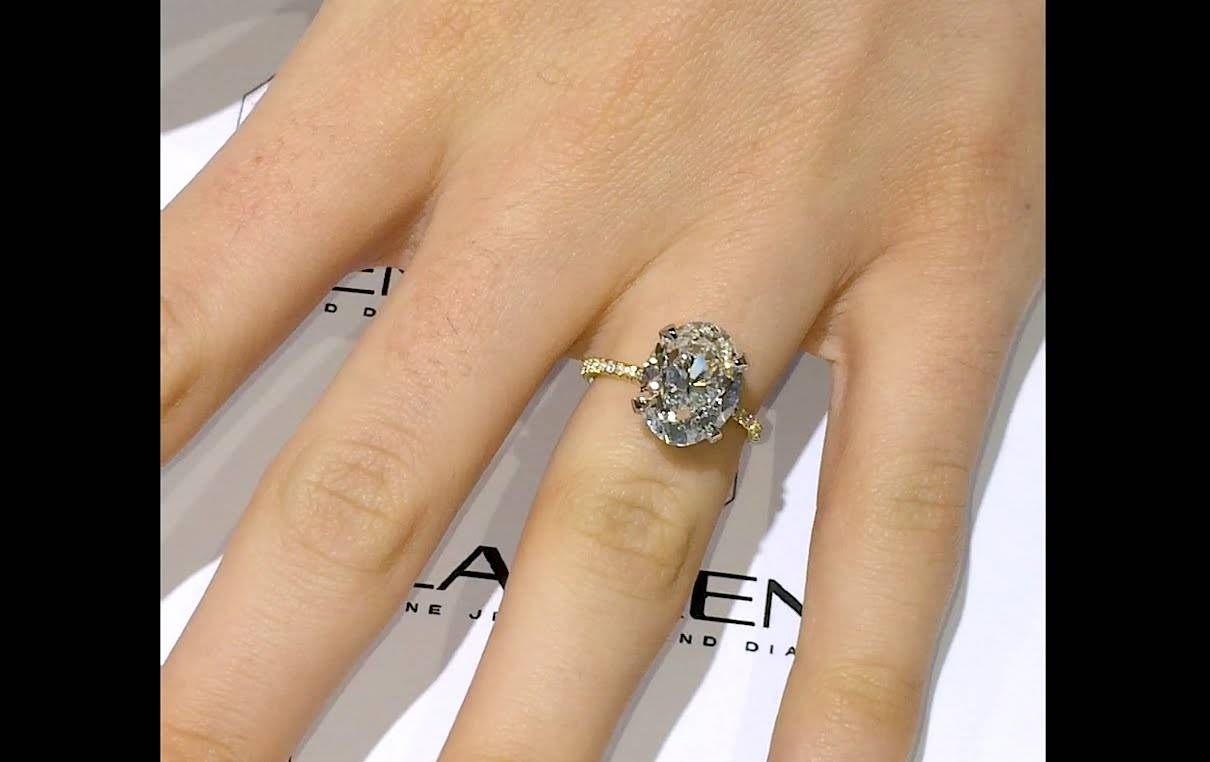 ring diamond gallery viewing single photo of free attachment engagement rings for carat