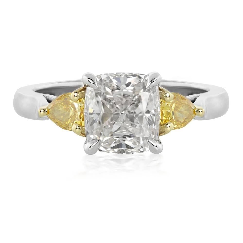 5 Gorgeous Alternatives To A Typical Engagement Ring | In The Loupe Pertaining To Engagement Rings With Yellow Stone (View 3 of 15)