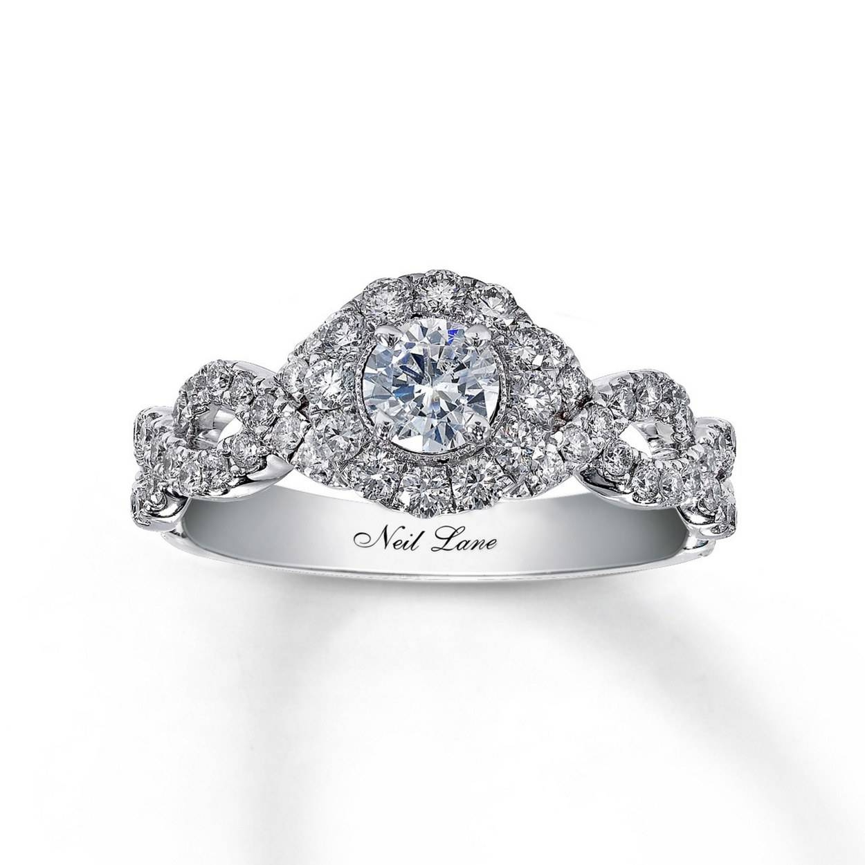 62 Diamond Engagement Rings Under $5,000 | Glamour Regarding Engagement Band Rings (View 3 of 15)