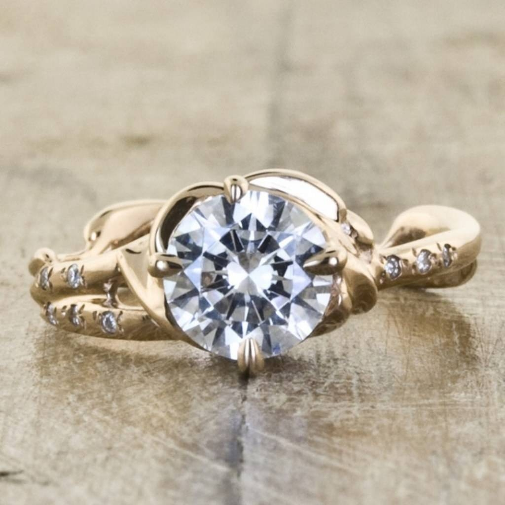7 Jaw Dropping Hand Crafted Engagement Rings, Because Your Ring Inside Hand Crafted Engagement Rings (View 1 of 15)