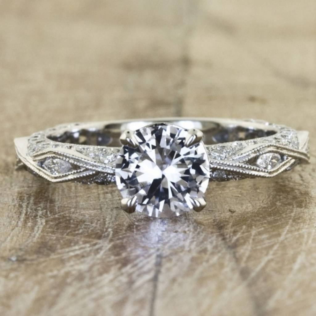 7 Jaw Dropping Hand Crafted Engagement Rings, Because Your Ring Inside Handcrafted Engagement Rings (Gallery 1 of 15)