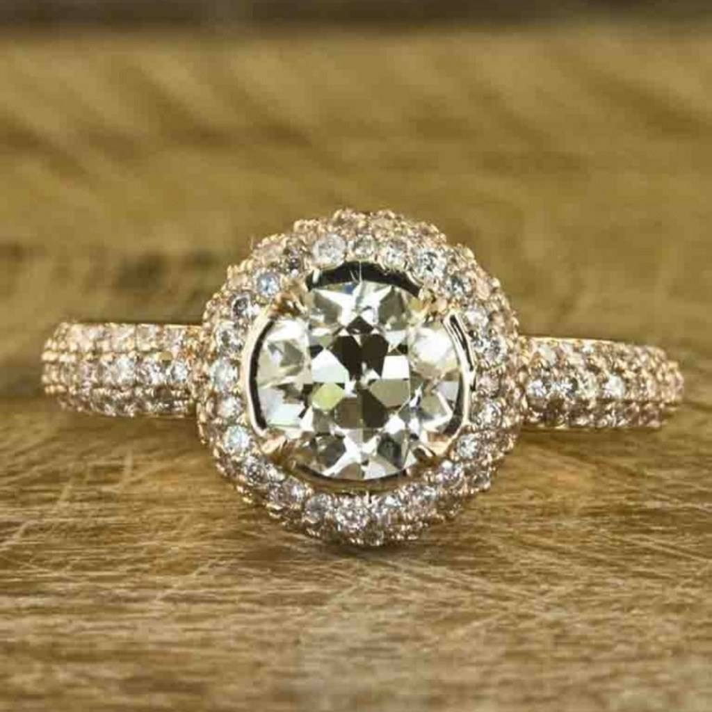 7 Jaw Dropping Hand Crafted Engagement Rings, Because Your Ring Throughout Hand Crafted Engagement Rings (Gallery 2 of 15)
