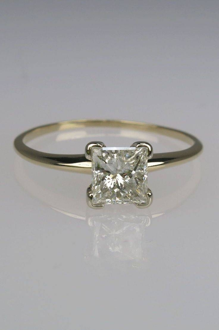 85 Best Princess Cut Engagement Rings Images On Pinterest Intended For Traditional Scottish Engagement Rings (Gallery 10 of 15)