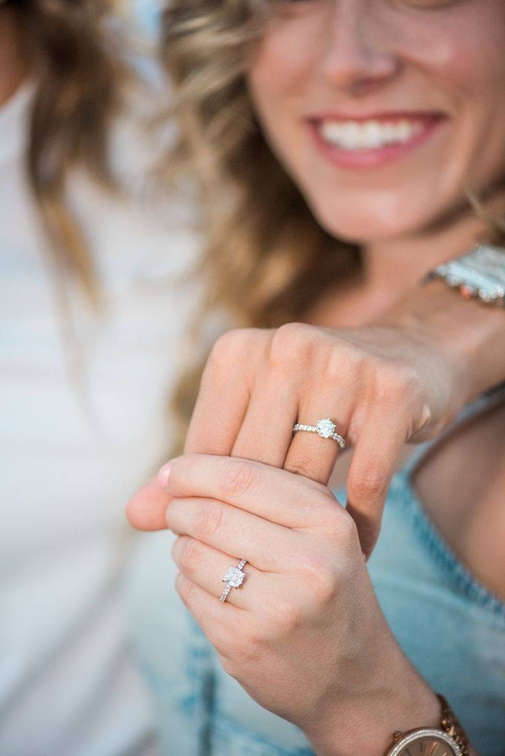 876 Best Real Engagement Rings Images On Pinterest | Amazing Throughout Molly Sims Wedding Rings (Gallery 11 of 15)