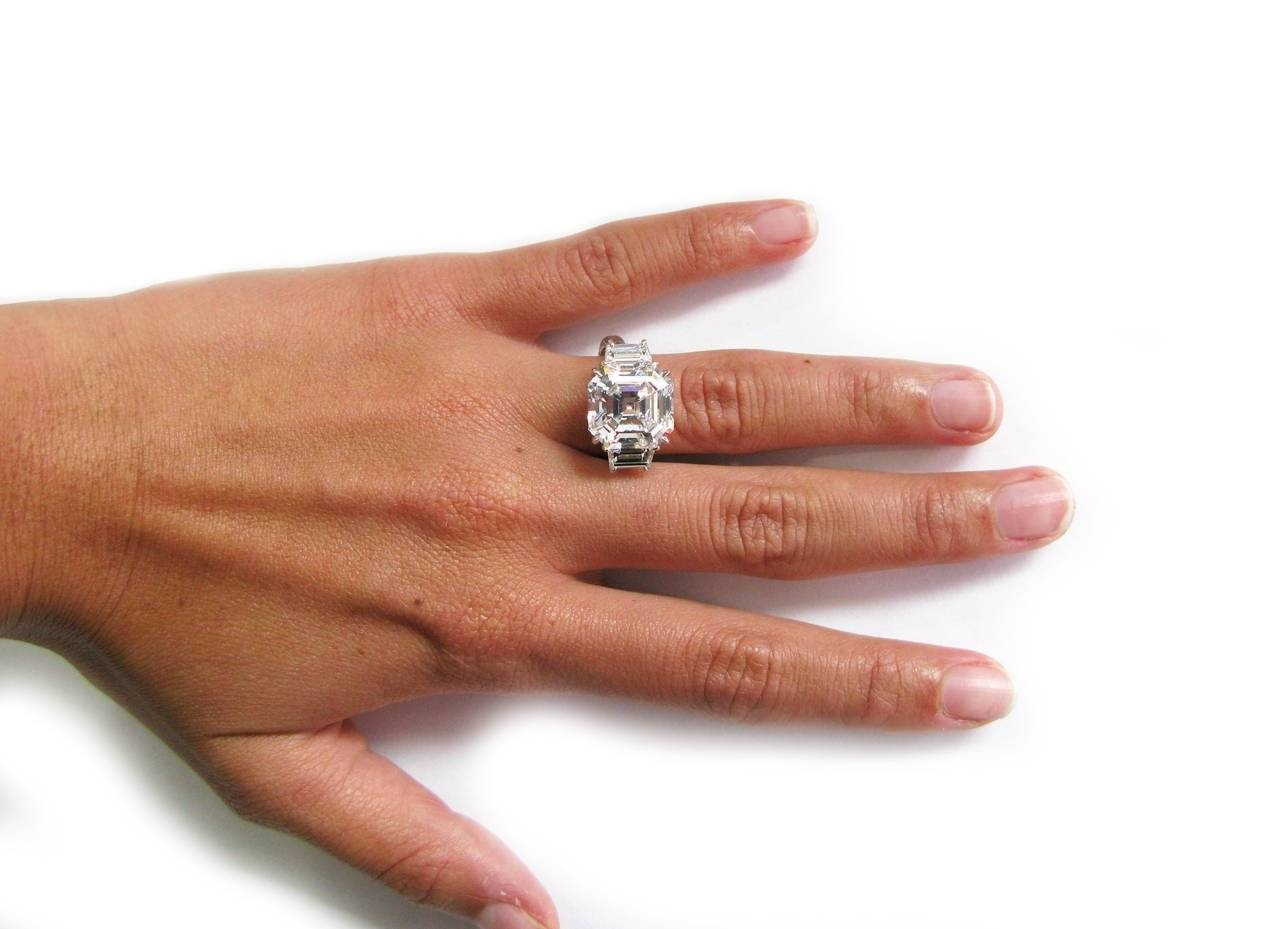 entourage ring in caymancode diamond oval with rings carat platinum