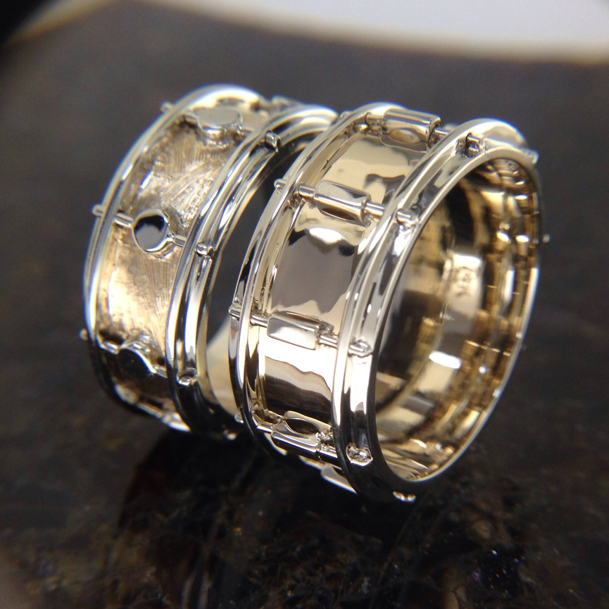 A Wedding Band For A Drummer Of A Wedding Band (View 7 of 15)