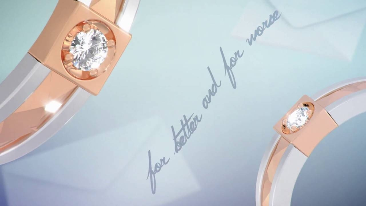 Adelle Jewellery – The Vow Wedding Ring – Youtube Inside The Vow Wedding Rings (View 1 of 15)