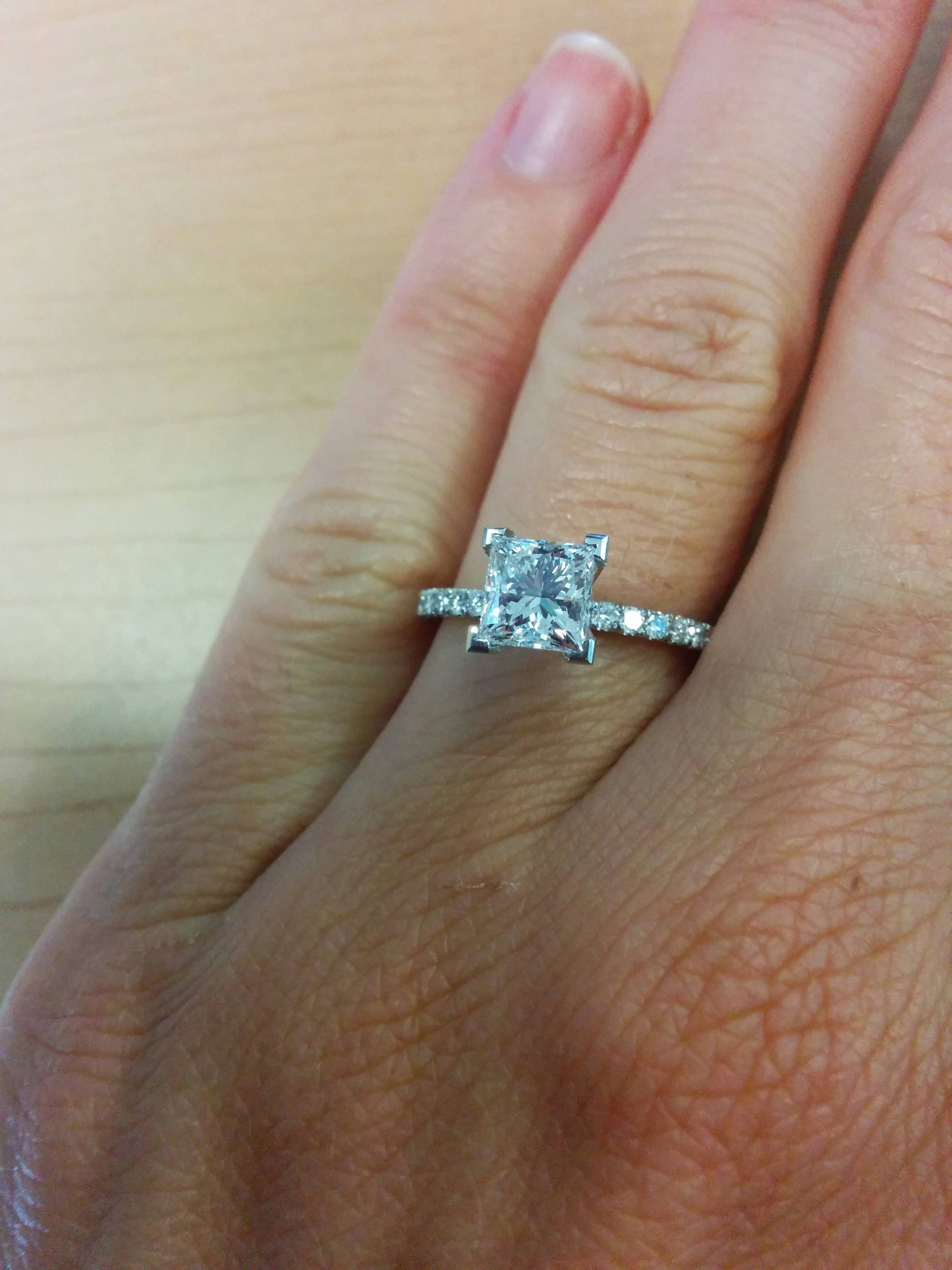 Adiamor Rings? – Weddingbee Pertaining To Adiamor Engagement Rings (View 4 of 15)