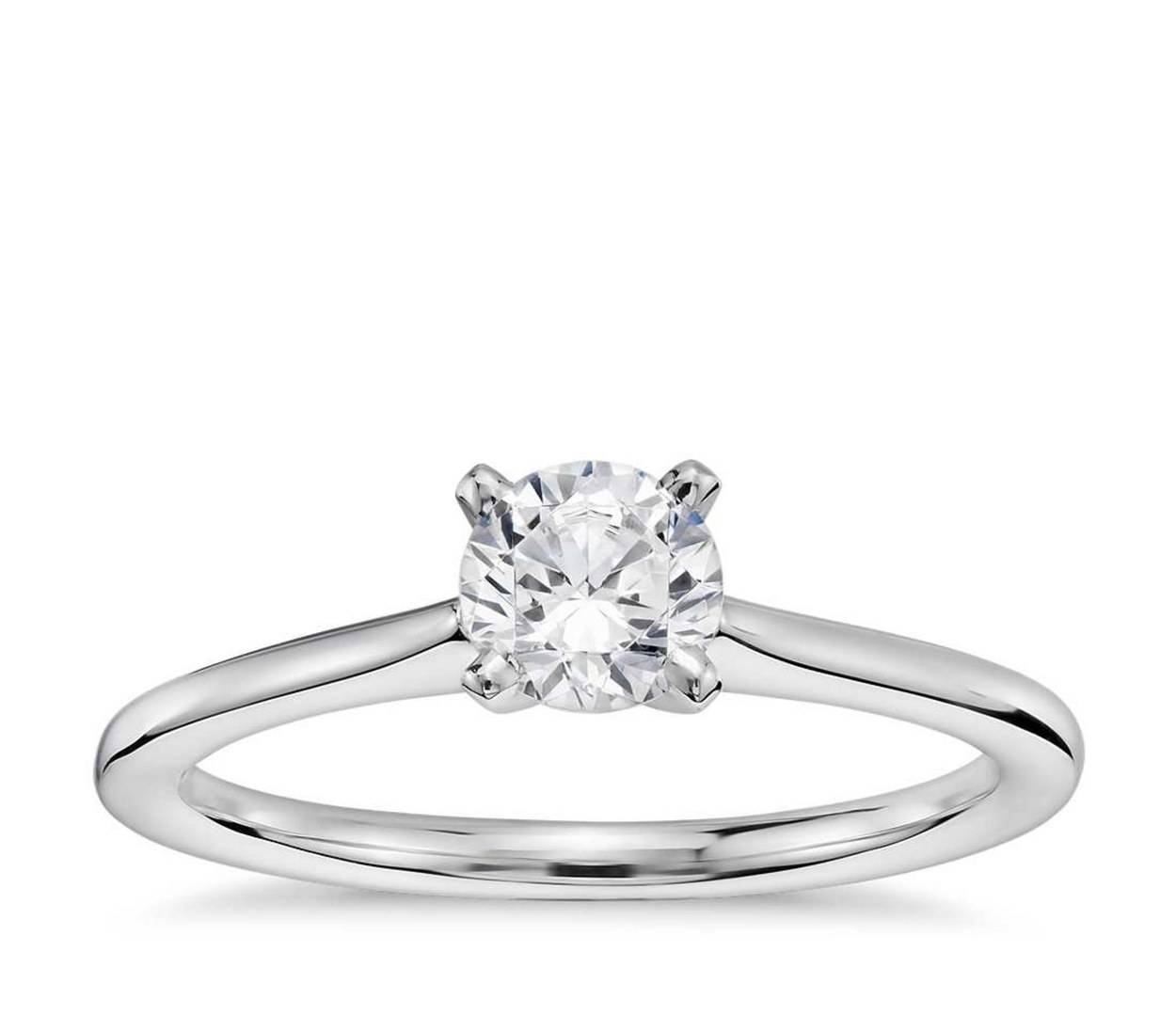 Affordable Engagement Rings Under $1,000 | Glamour Pertaining To Engagement Rings For Women Under  (View 1 of 15)