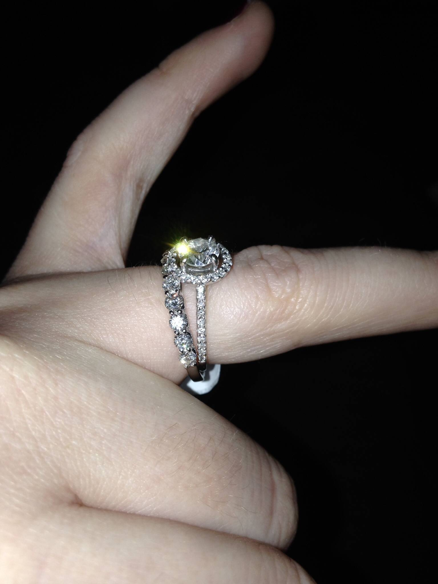 Affordable Rings – Weddingbee With Regard To Costco Diamond Wedding Bands (View 13 of 15)