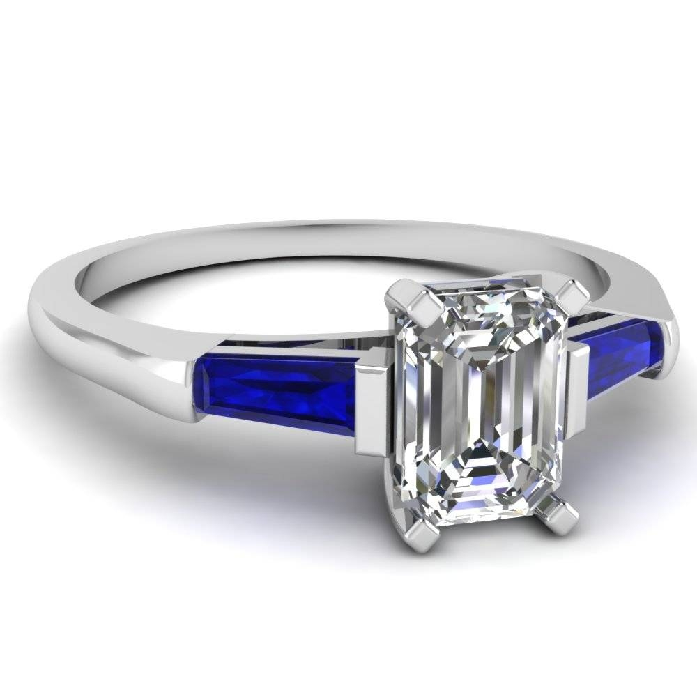 Affordable Three Stone Engagement Rings | Fascinating Diamonds Within Emerald And Sapphire Engagement Rings (View 3 of 15)