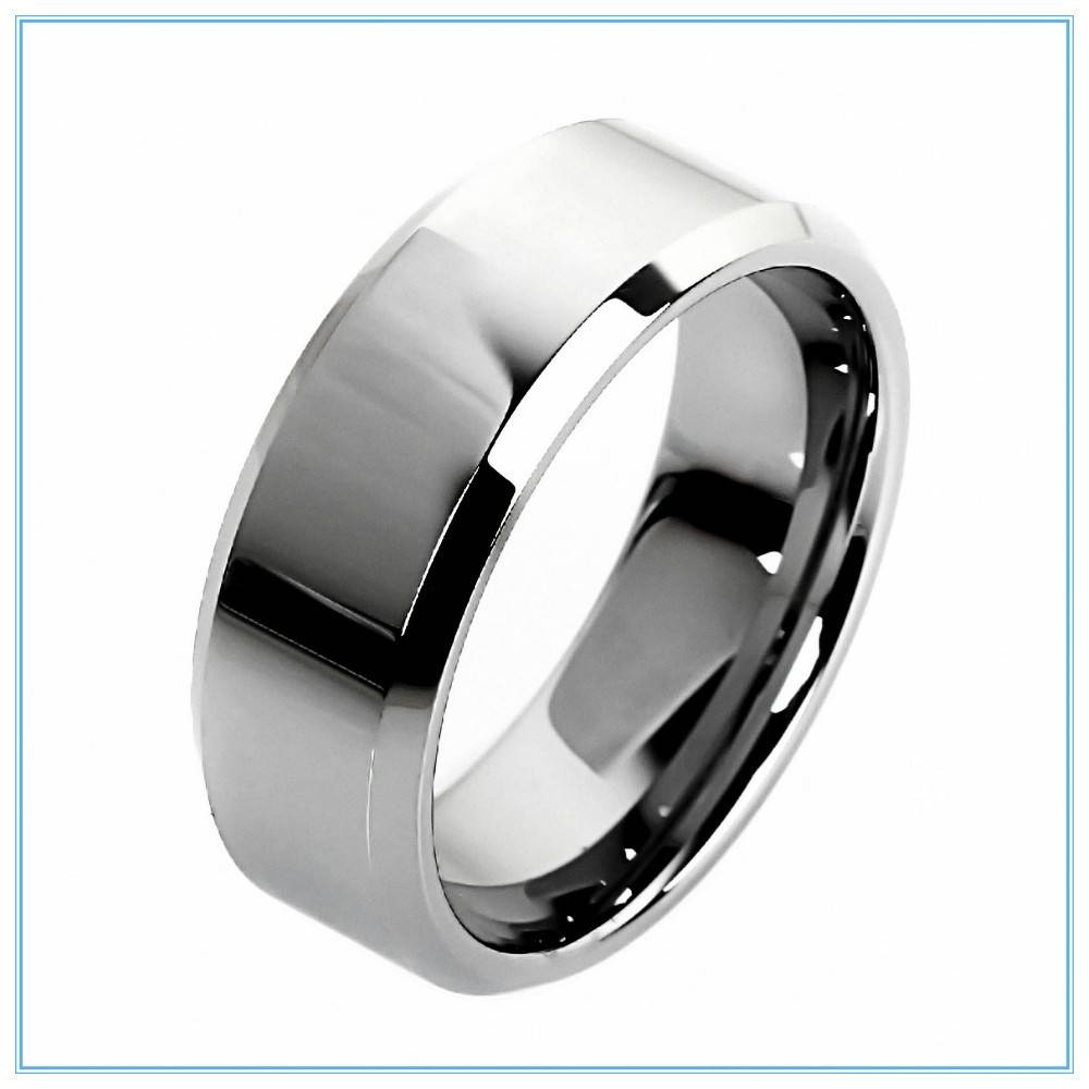 Aliexpress : Buy 6mm High Quality Tungsten Rings For Men Women Throughout Silver Wedding Rings For Men (View 10 of 15)