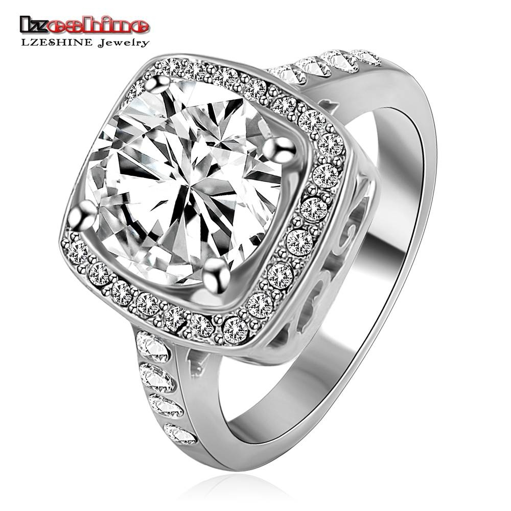 Aliexpress : Buy Lzeshine New Arrival Hot Sale Jewelry Rings Regarding Unisex Engagement Rings (View 2 of 15)